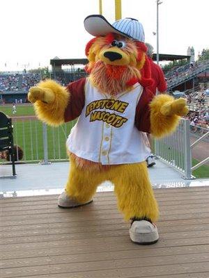 Boomer the Thundercat - Lancaster Lightning/Keystone Mascots
